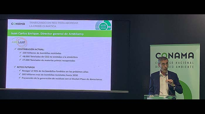 AMBILAMP propone trabajar en red para abordar la crisis climática