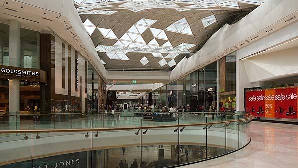 evacuacion centros comerciales