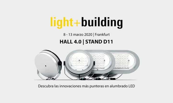 ATP Iluminación presentará su nuevo catálogo general de alumbrado exterior LED en Light+Building 2020