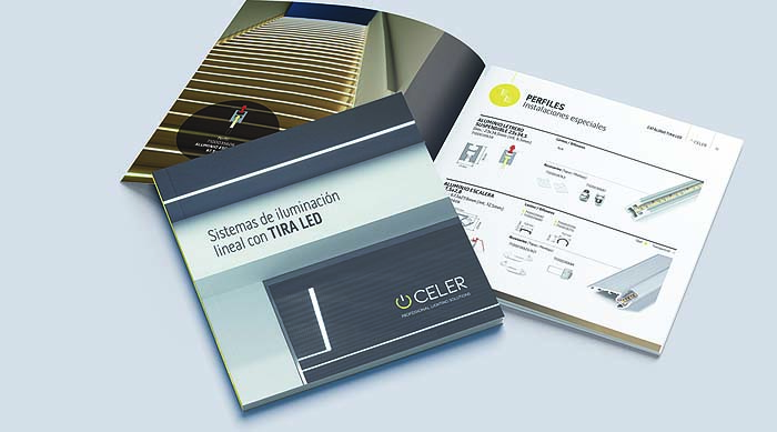 catalogo tira led celer