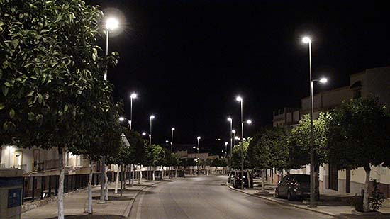Televés renueva el alumbrado público de Arahal, en Sevilla