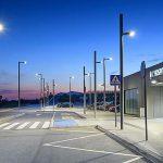 Iluminación inteligente para estaciones de tren