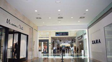 Iluminación del Centro Comercial Parquesur