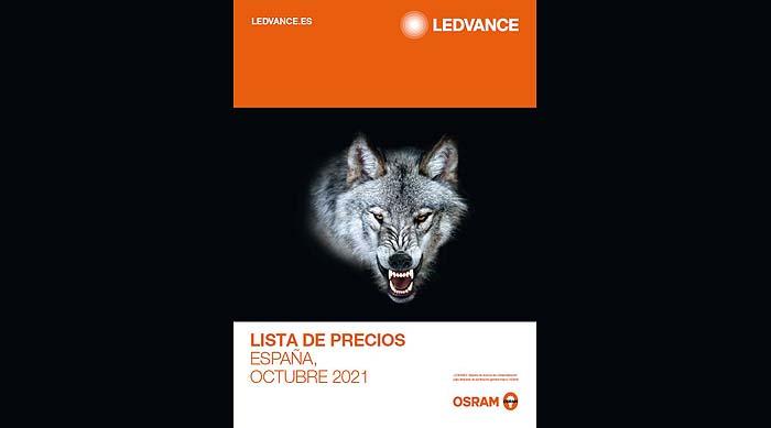 LEDVANCE presenta su nueva Lista de Precios de Octubre 2021